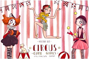 Circus Cute Girls Collection