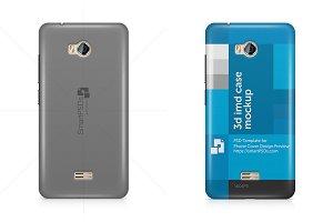 Micromax Q336 Phone Case Mockup
