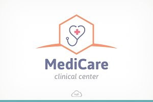 Medic Care Logo Template