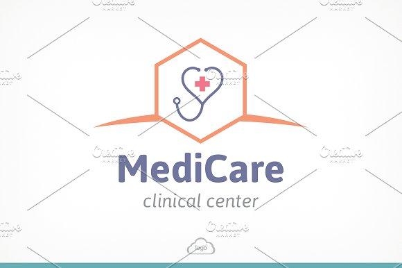 medic care logo template logo templates creative market