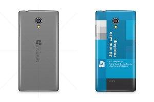 Micromax Fire 4G Phone Case Mockup