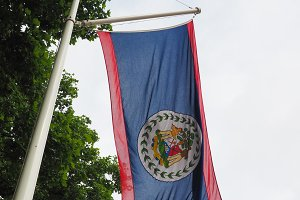 Belizean Flag of Belize