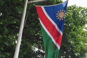 Namibian Flag of Namibia