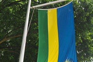 Rwandan Flag of Rwanda