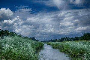 Natural water path