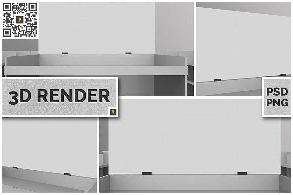 Store Crowner 3D Render