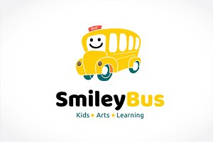 Smiley Bus Logo
