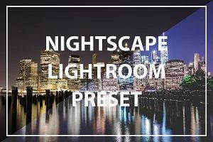 Nightscape Lightroom Preset