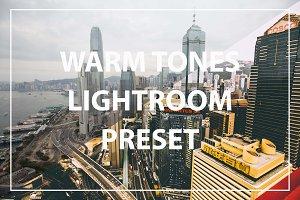Warm Tones Lightroom Preset