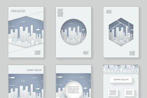 Paper Silhouette Urban