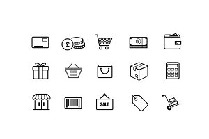 15 E-Commerce Icons