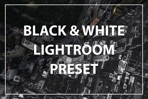 Moody B&W Lightroom Preset