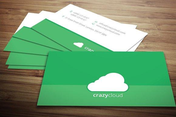 Flat business card business card templates creative market colourmoves