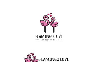 Flamingo Love Logo