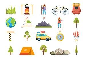 Travel Rest Symbols