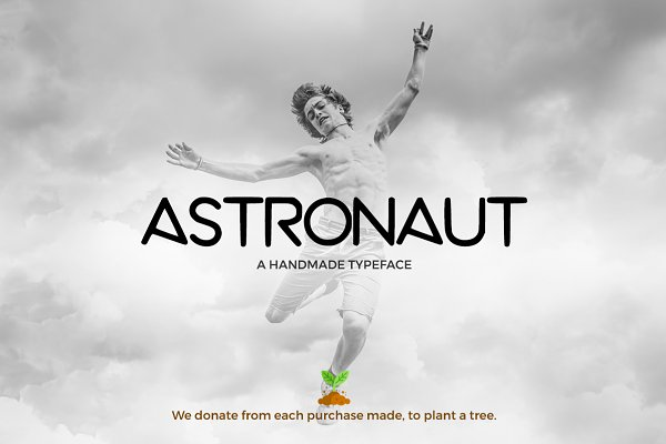 Astronaut All Caps Sans Serif Font