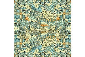 Light colors ethnic decorative pattern