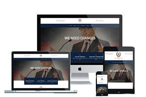 AT Politix Onepage – Politics Joomla