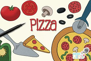 Pizza Illustrations