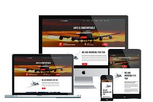 AT Airus Onepage - Airline Joomla