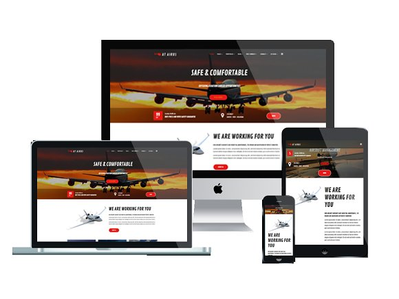 AT Airus Onepage Airline Joomla