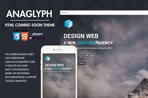Anaglyph - Coming Soon Template