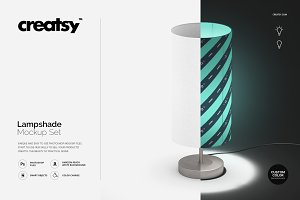 Lampshade Mockup Set