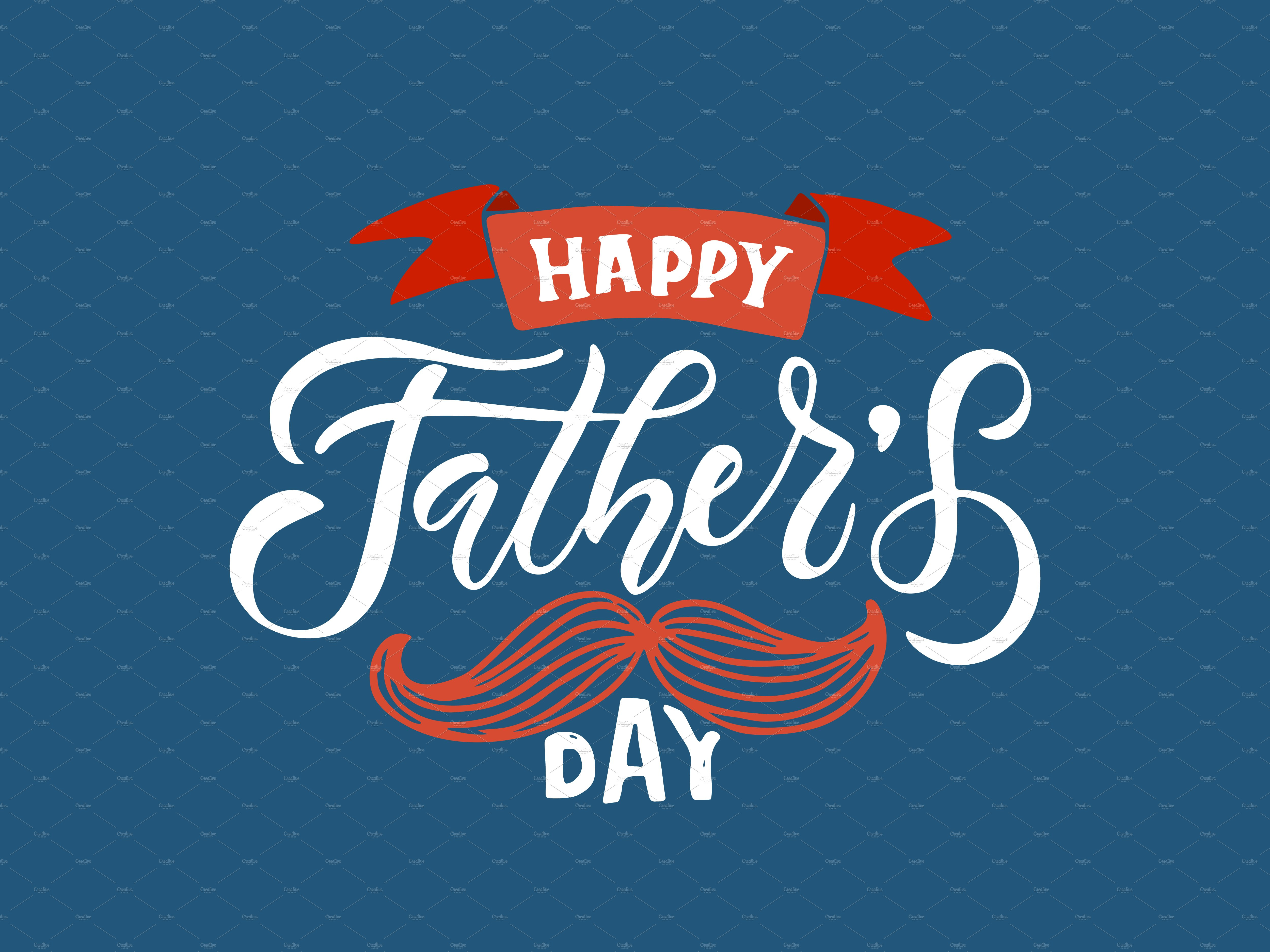 Happy Fathers Day Template ~ Templates ~ Creative Market