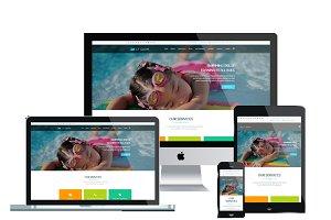 LT Swim Onepage - School Joomla