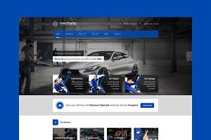 Mechanic - Car Service HTML Template