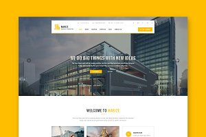 Marize - Construction HTML Template