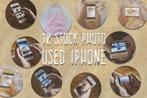 10 Stock Photo Used Iphone