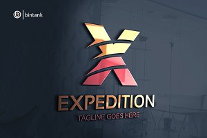 Expedition - Letter X Logo