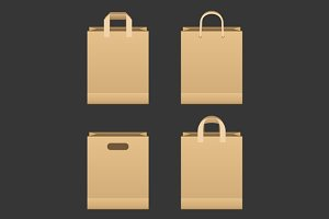 Paper Shopping Bag Set