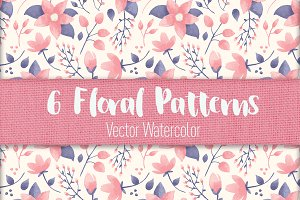 Floral Patterns and Elements