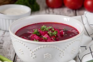 Borsch - beetroot soup