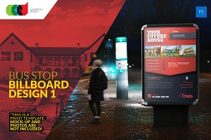 Bus Stop Billboard Design 1