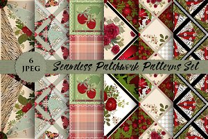 SALE PATCHWORK seamless pattern vol4