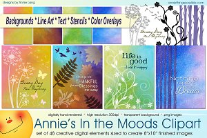 Annie's In the Moods Clipart