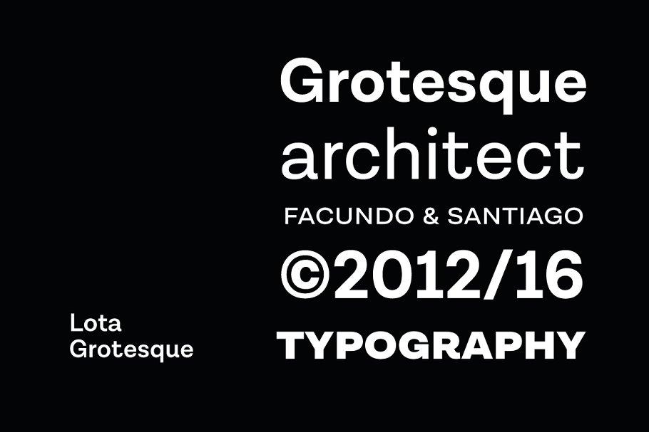 Lota Grotesque - 50% off ~ Sans Serif Fonts ~ Creative Market