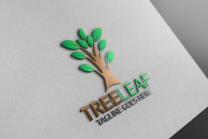Tree Leaf Green Logo