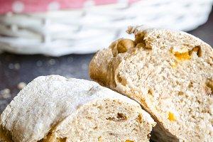 Homemade artisanal bread