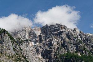 Epic mountain landscape