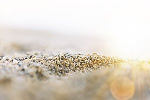 Sunlight and sand