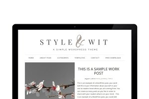 Style And Wit - Genesis Theme