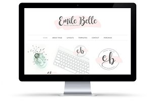 Emily Belle WordPress Theme