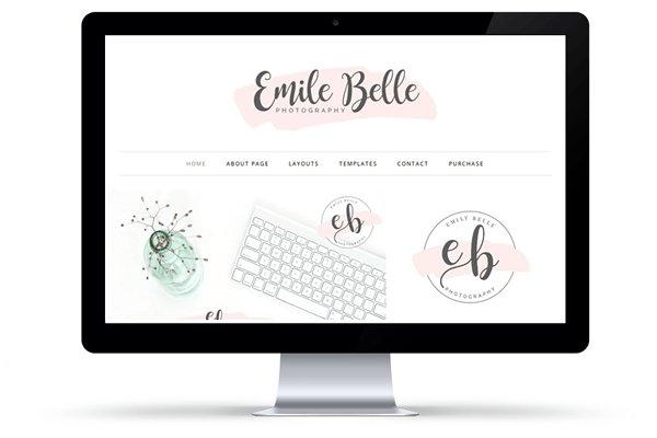 Emily Belle WordPress Theme
