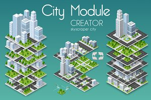 City skyscraper creator