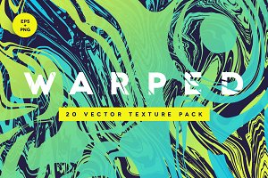WARPED | 20 Vector Texture Pack