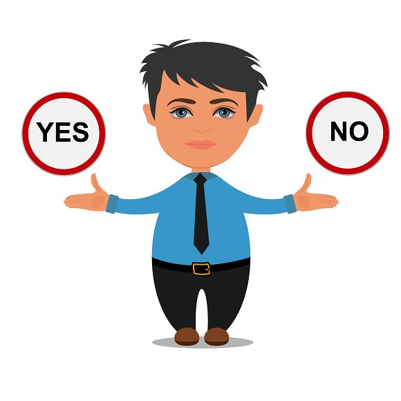 Yes Or No Choices Business
